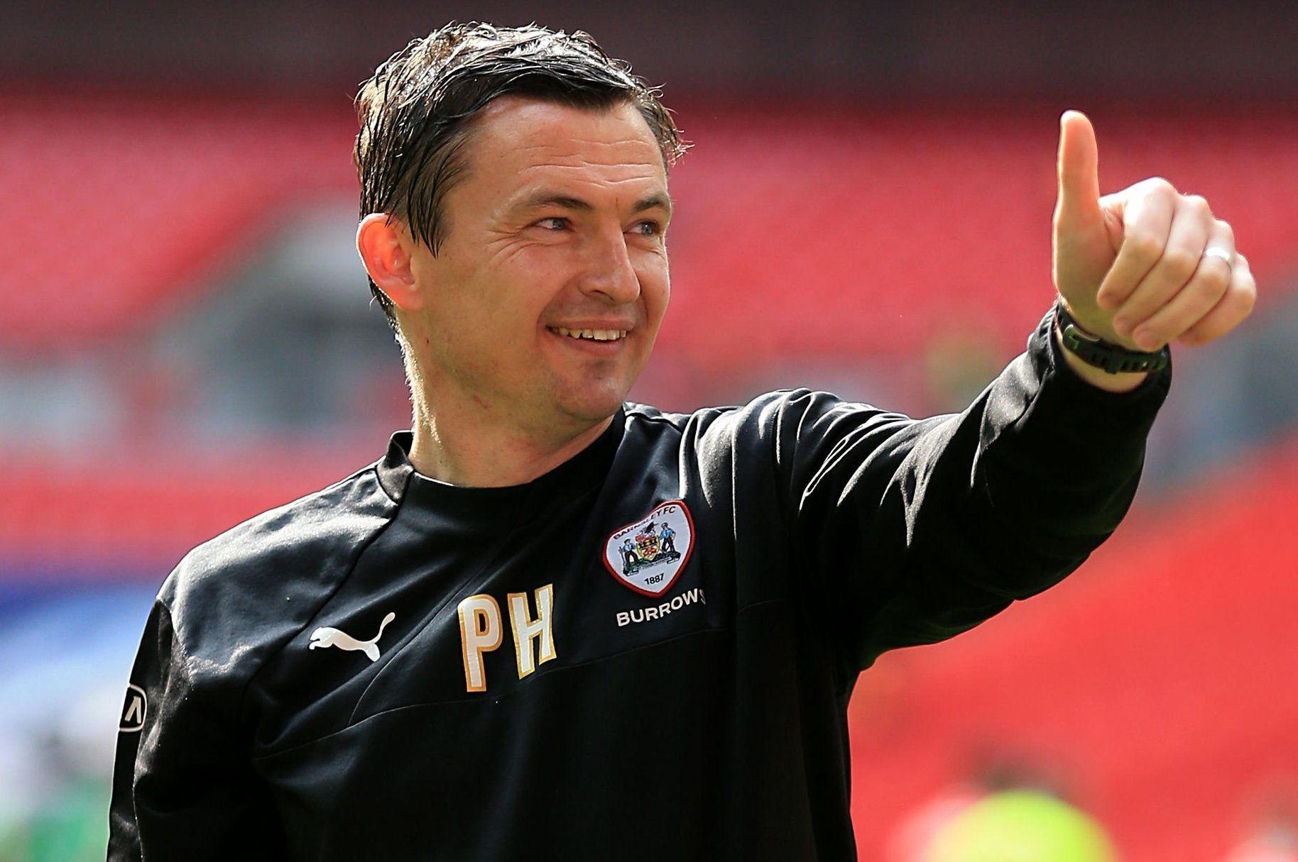 Paul Heckingbottom has left Barnsley to take over at Leeds – Picture: Nigel French/PA Wire