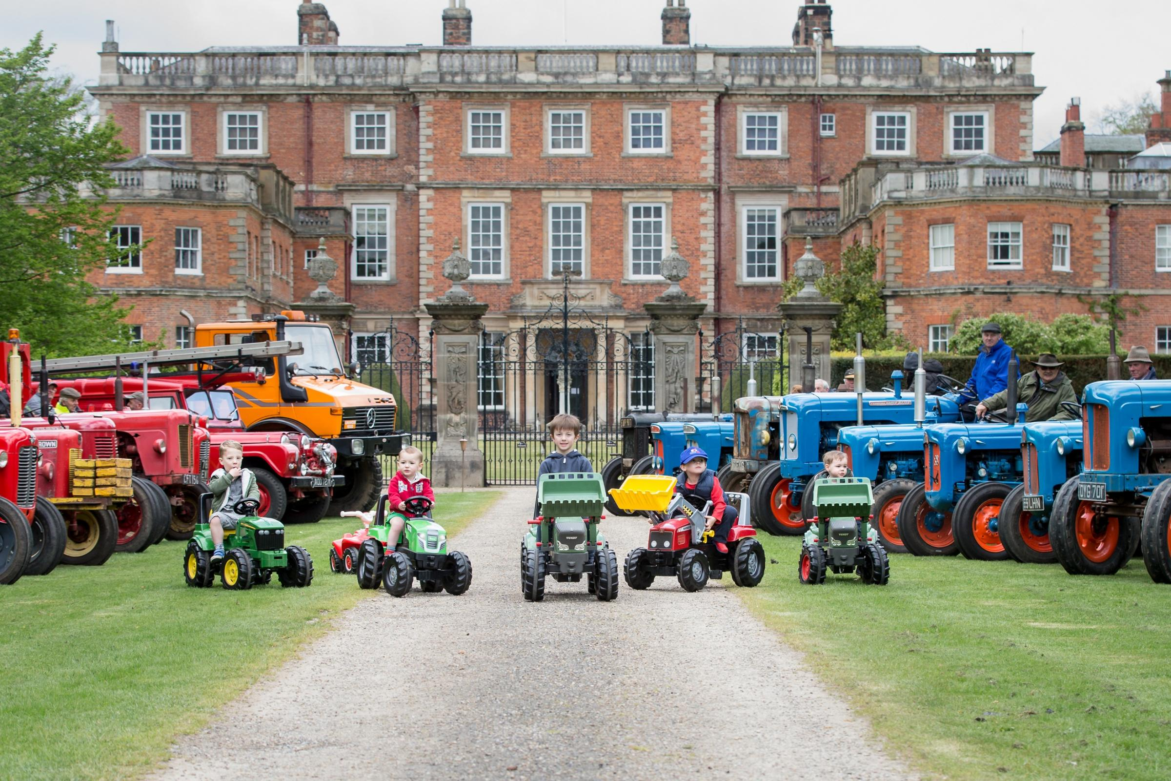 Newby Hall Tractor Fest 2018