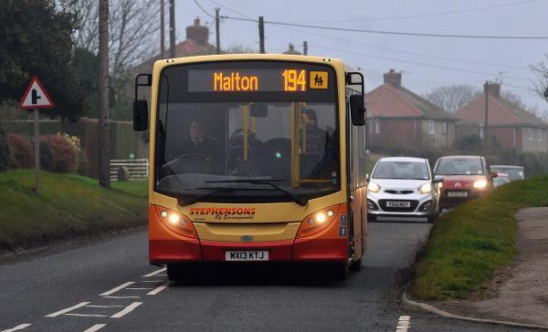 North Yorkshire county council has made new permanent arrangements for all the old Stephensons of Easingwold bus services