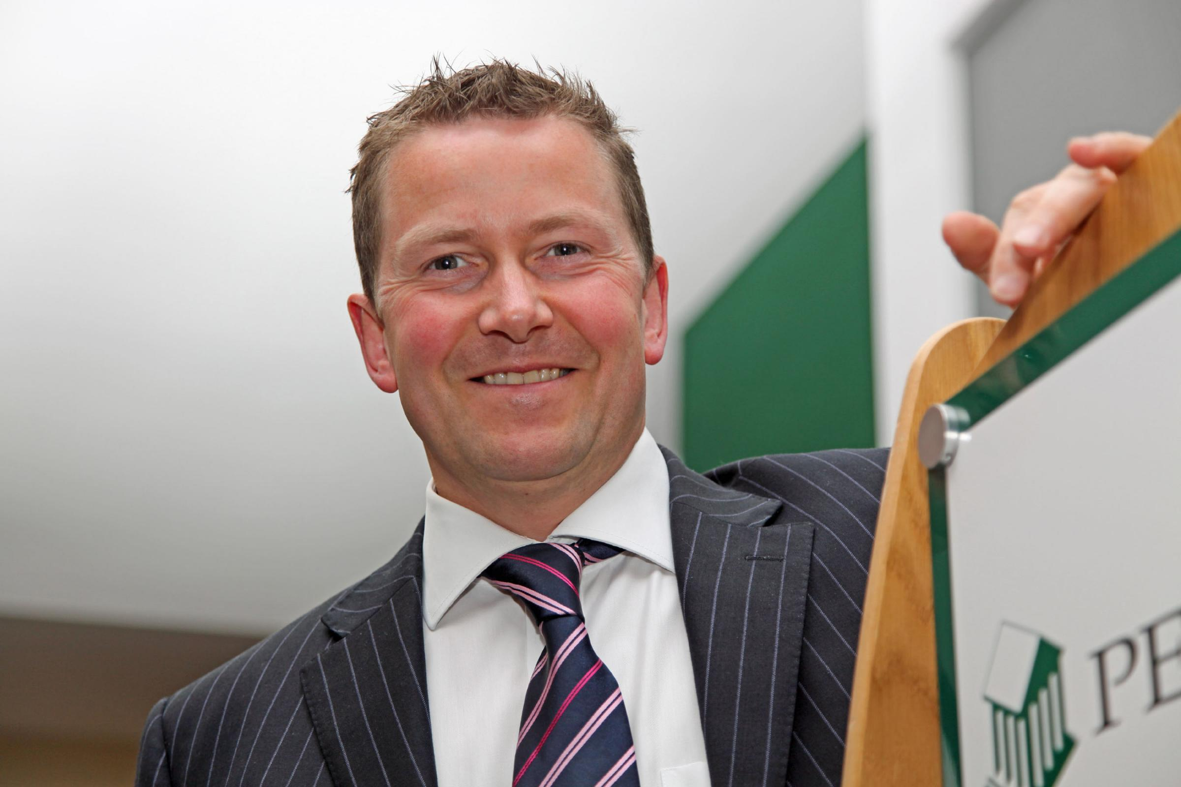 Jeff Fairburn, new chief executive of Persimmon plc..
