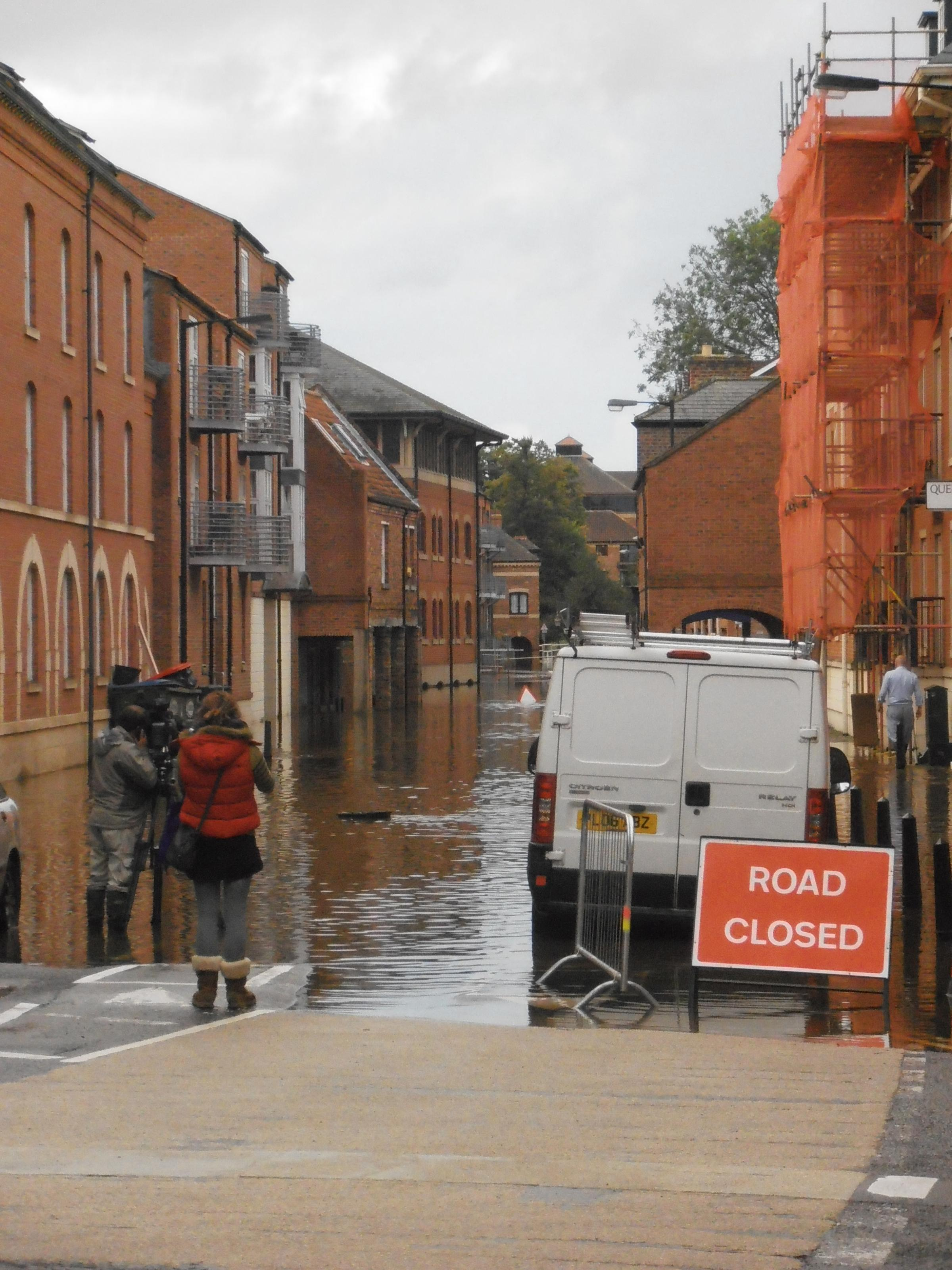 Two thirds of men would risk driving through floodwater