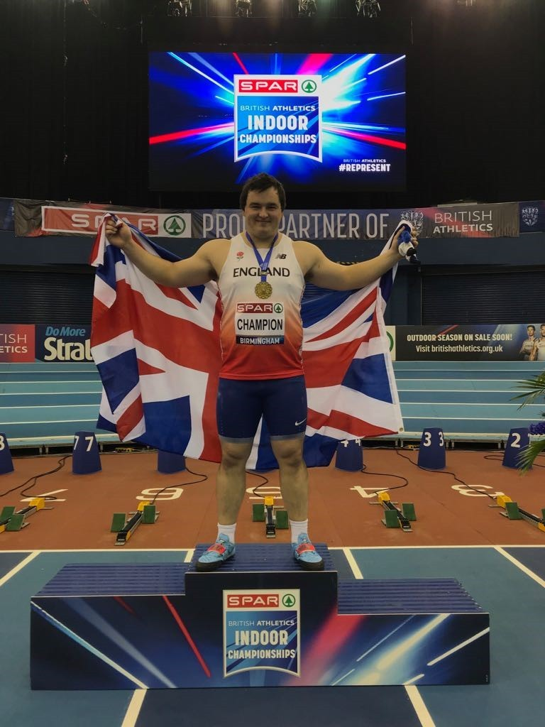 REIGNING CHAMPION: Scott Lincoln could claim his seventh consecutive British title tomorrow and, with it, qualify for the Athletics World Cup at the London Stadium in July