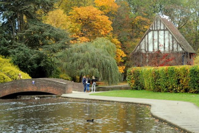 The Green party wants to see more investment in York parks, like Rowntree Park, York. Picture: Matt Clark.