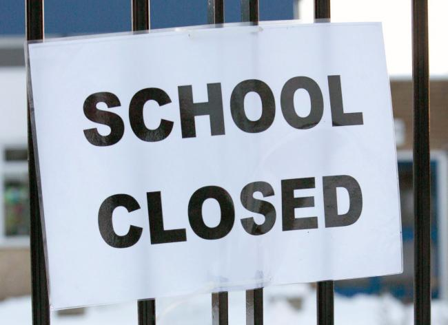 School closures in North Yorkshire on Thursday