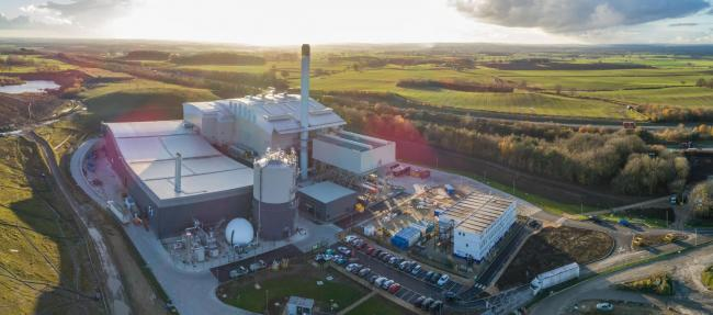 An aerial view of Allerton Waste Recovery Park. Picture: Amey