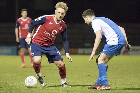 NEW DEAL: Louis Almond has been offered a contract to stay at York City