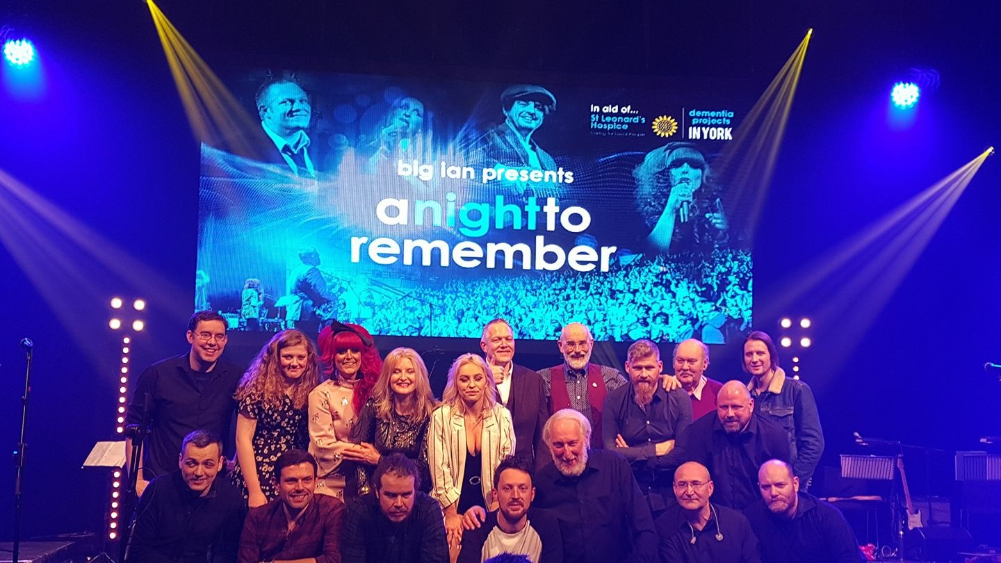 All the company for A Night To Remember. Picture: David Harrison