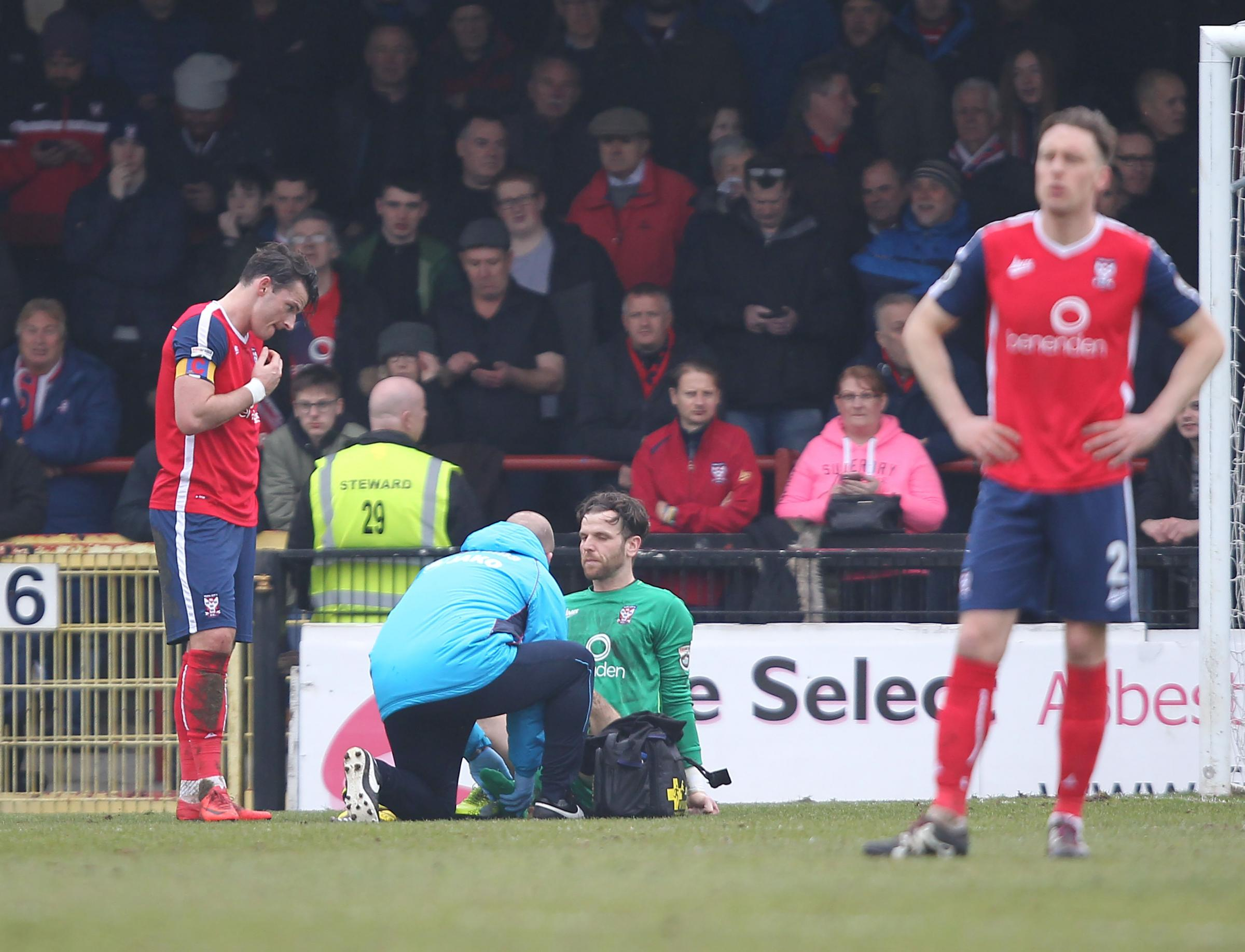 PARS FOR THE COURSE: Dan Parslow slotted back into the York City side in typically assured fashion. Pictures: Gordon Clayton