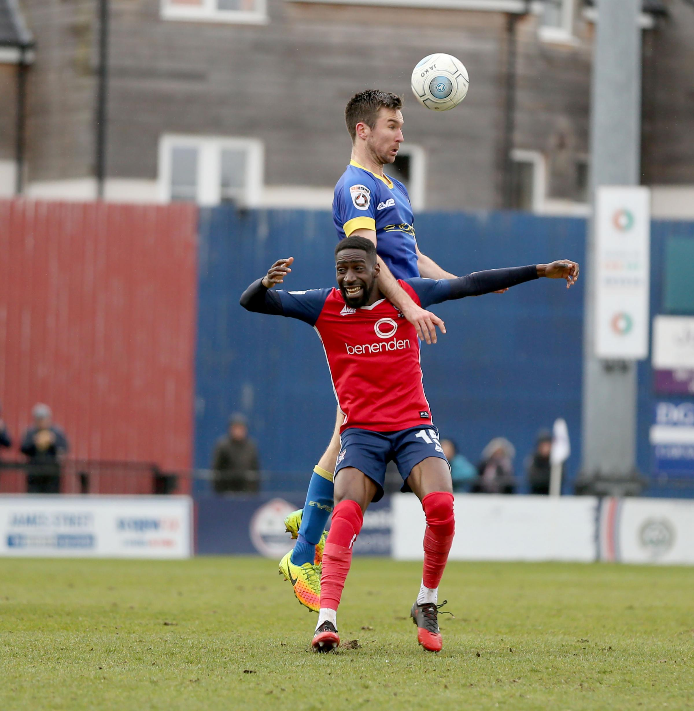 CENTRE STAGE: Adriano Moke is at his most effective in the middle of the park for York City. Pictures: Gordon Clayton