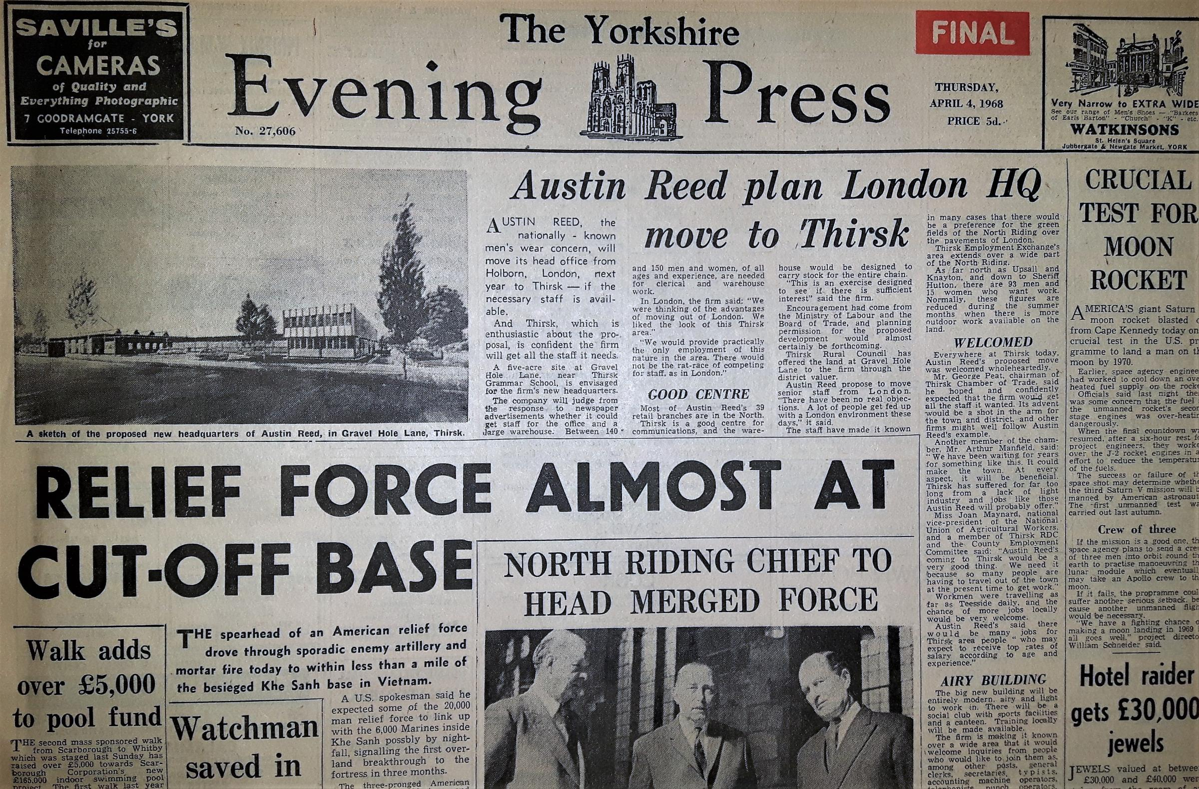 On This Day April 4 York Press