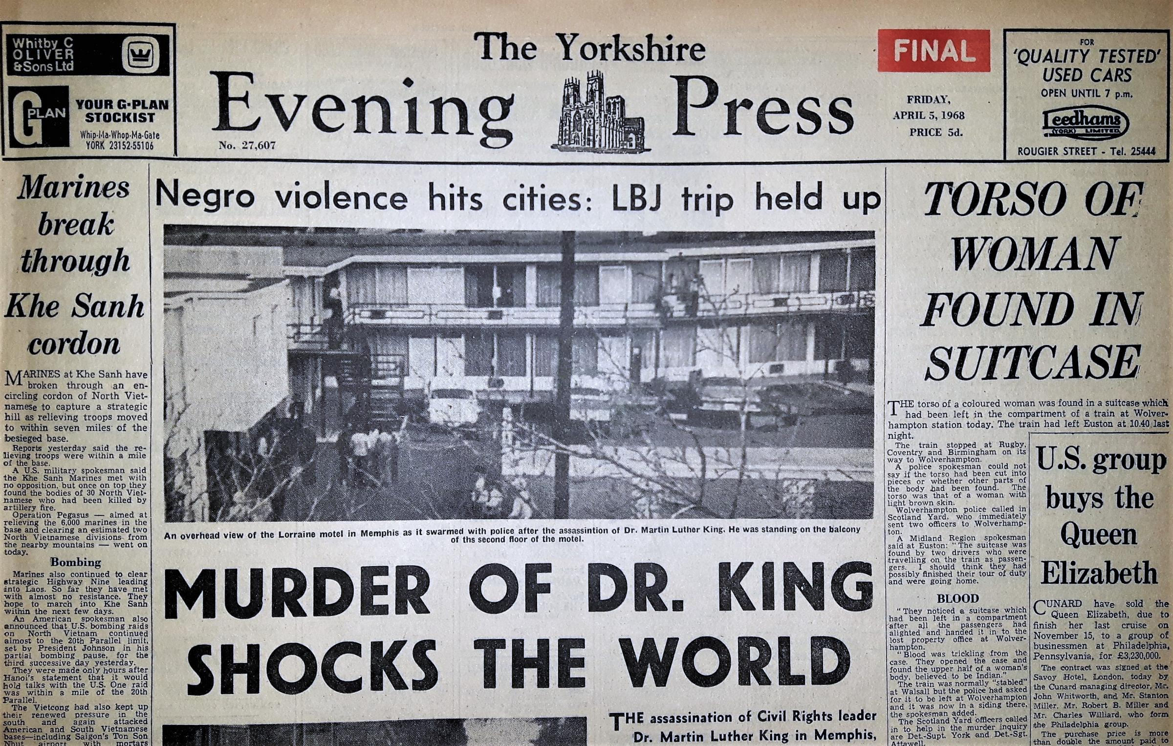 ON THIS DAY: April 5 | York Press - The Press, York 1