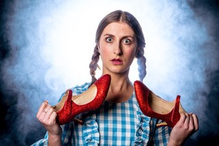 Pick Me Up newcomer Anna Hale as Dorothy. Picture: Matthew Kitchen