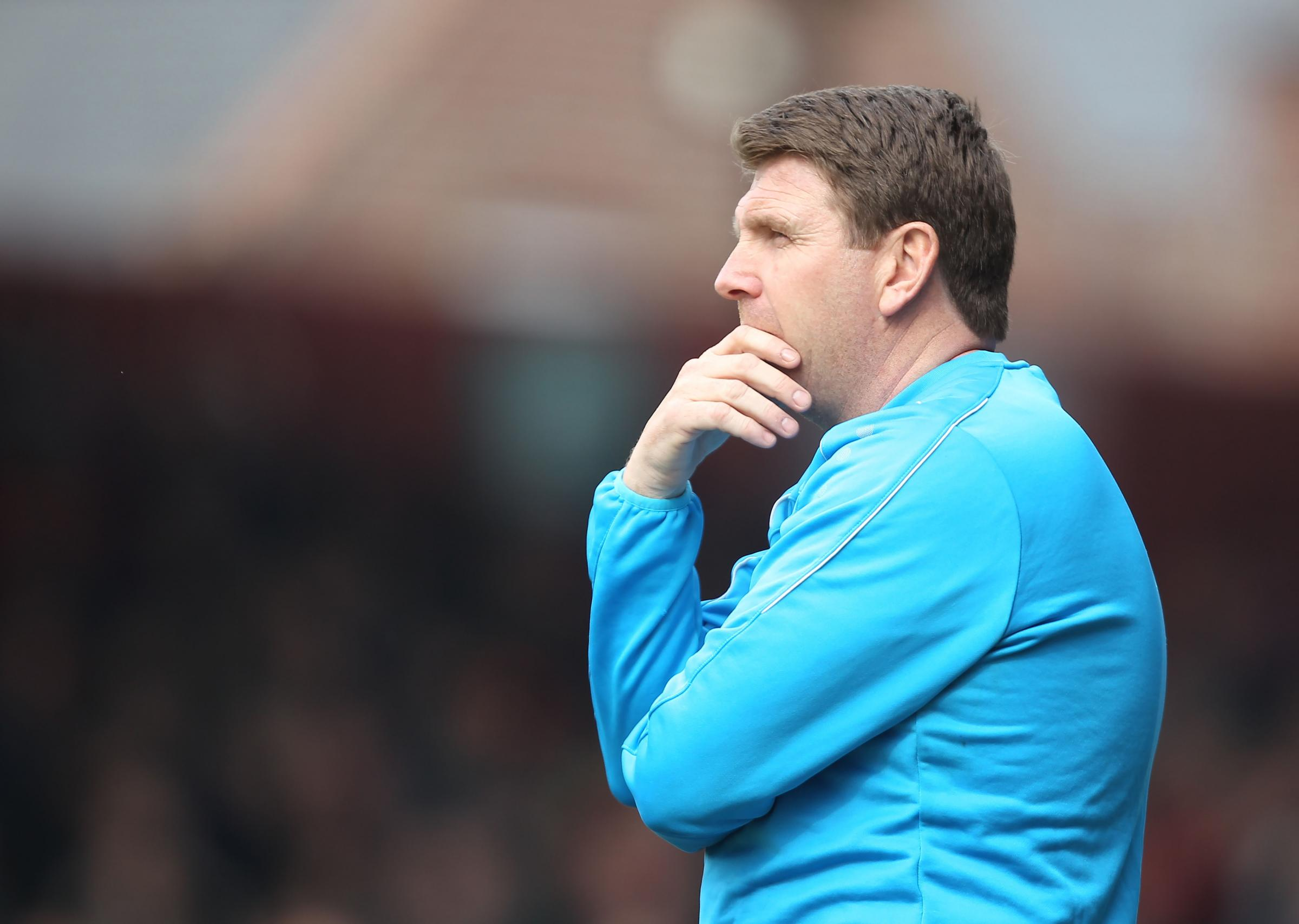 TAKING IT ON THE CHIN: York City boss Martin Gray understands fans' frustrations, but has appealed for support with promotion still achievable. Picture: Gordon Clayton