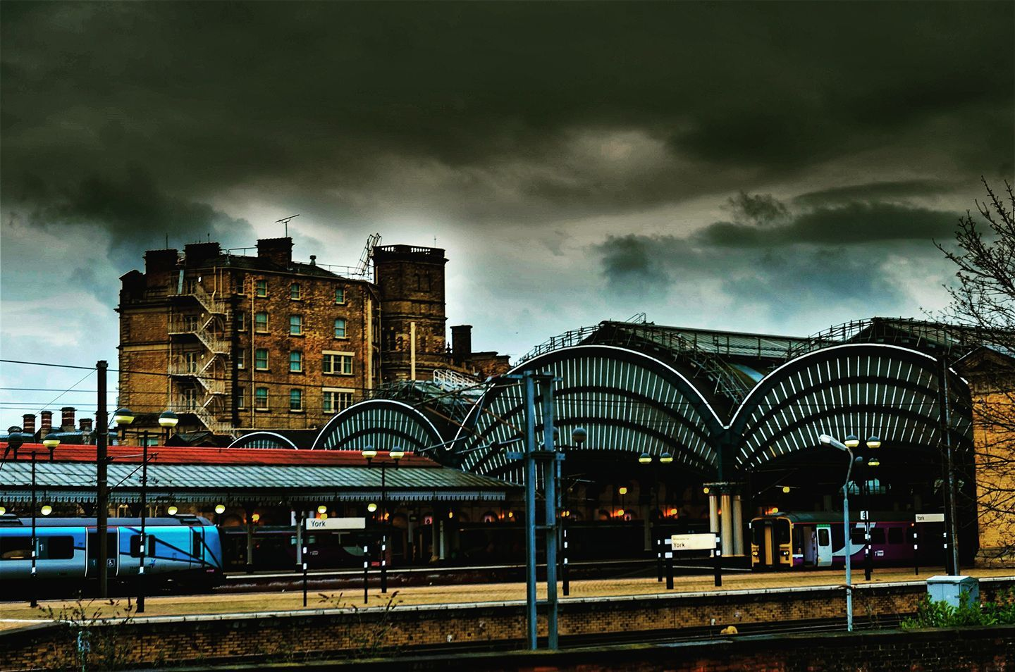 York Railway Station Picture by David Pinder?