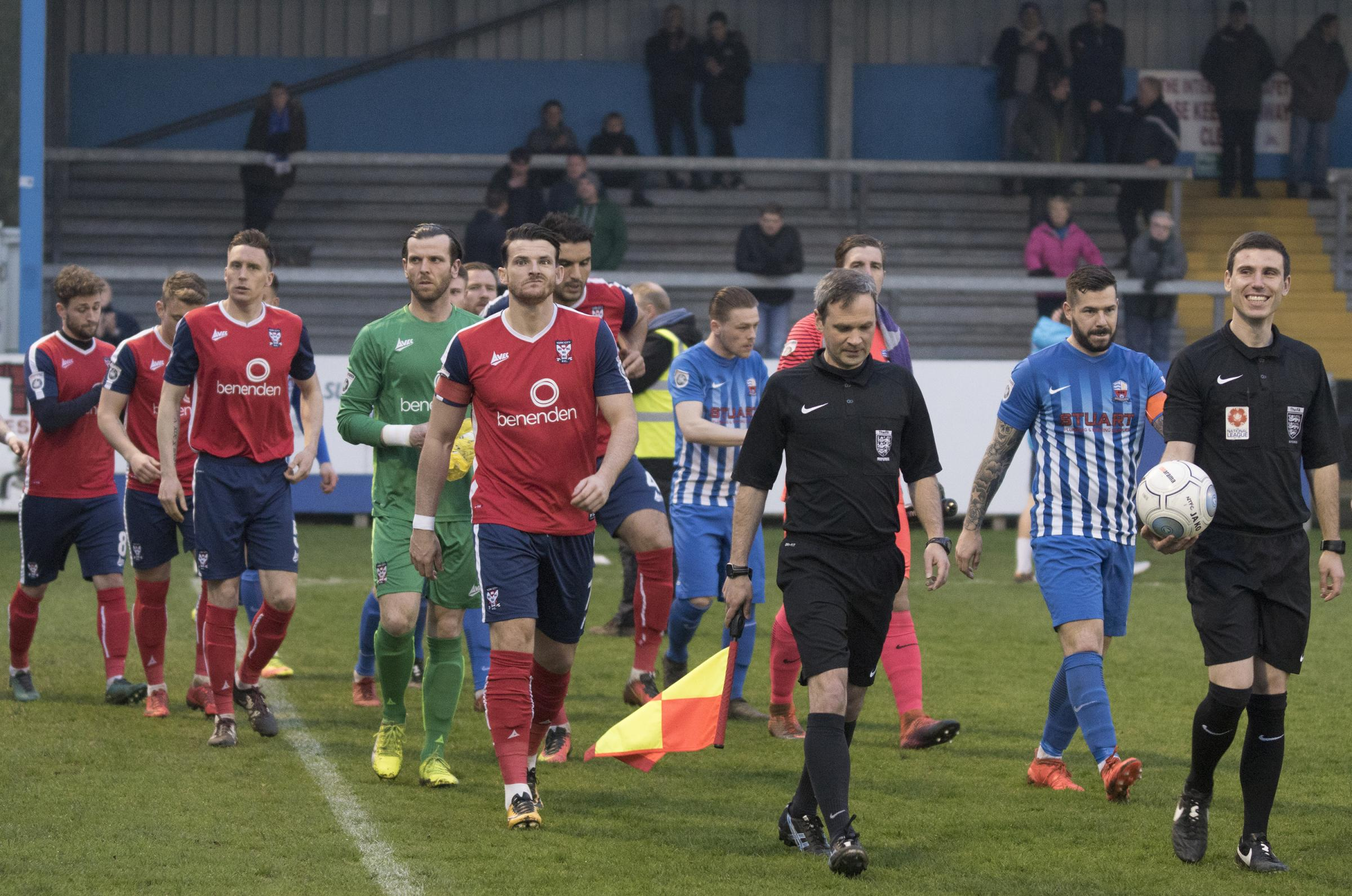IN THE FIRING LINE: York City captain Sean Newton. Picture: Ian Parker