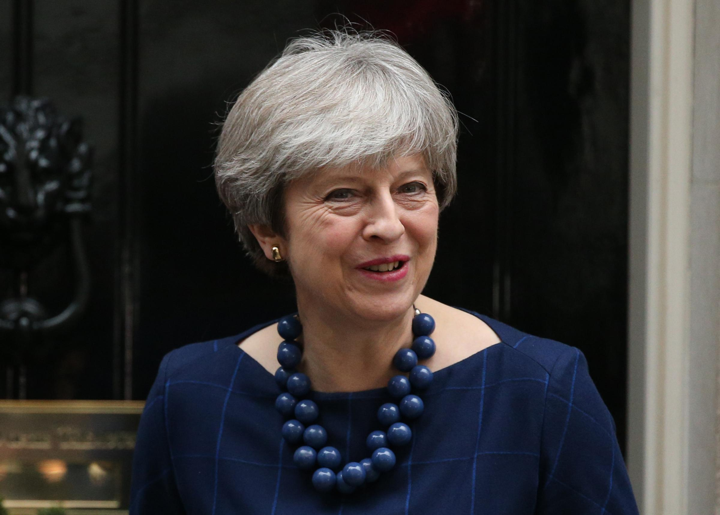 Theresa May, who showed 'courage and statesmanship' in ordering attacks on Syria, says reader Keith Massey
