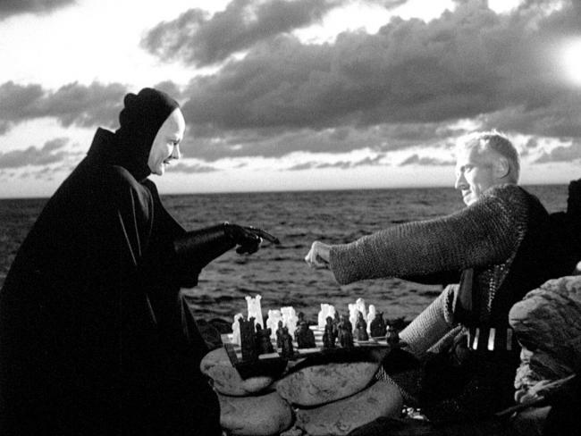 Wrong move? The Knight takes on the Grim Reaper in The Seventh Seal