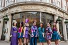Yorkshire Dandy collection by Antonia Houston Couture at Bettys, launches York Fashion Week    Photo: Olivia Brabbs