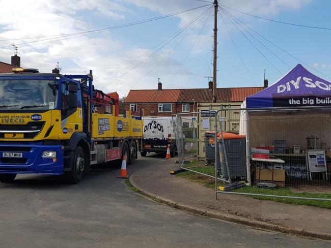 York Builders Merchant Supports Diy Sos Volunteer Targeted By
