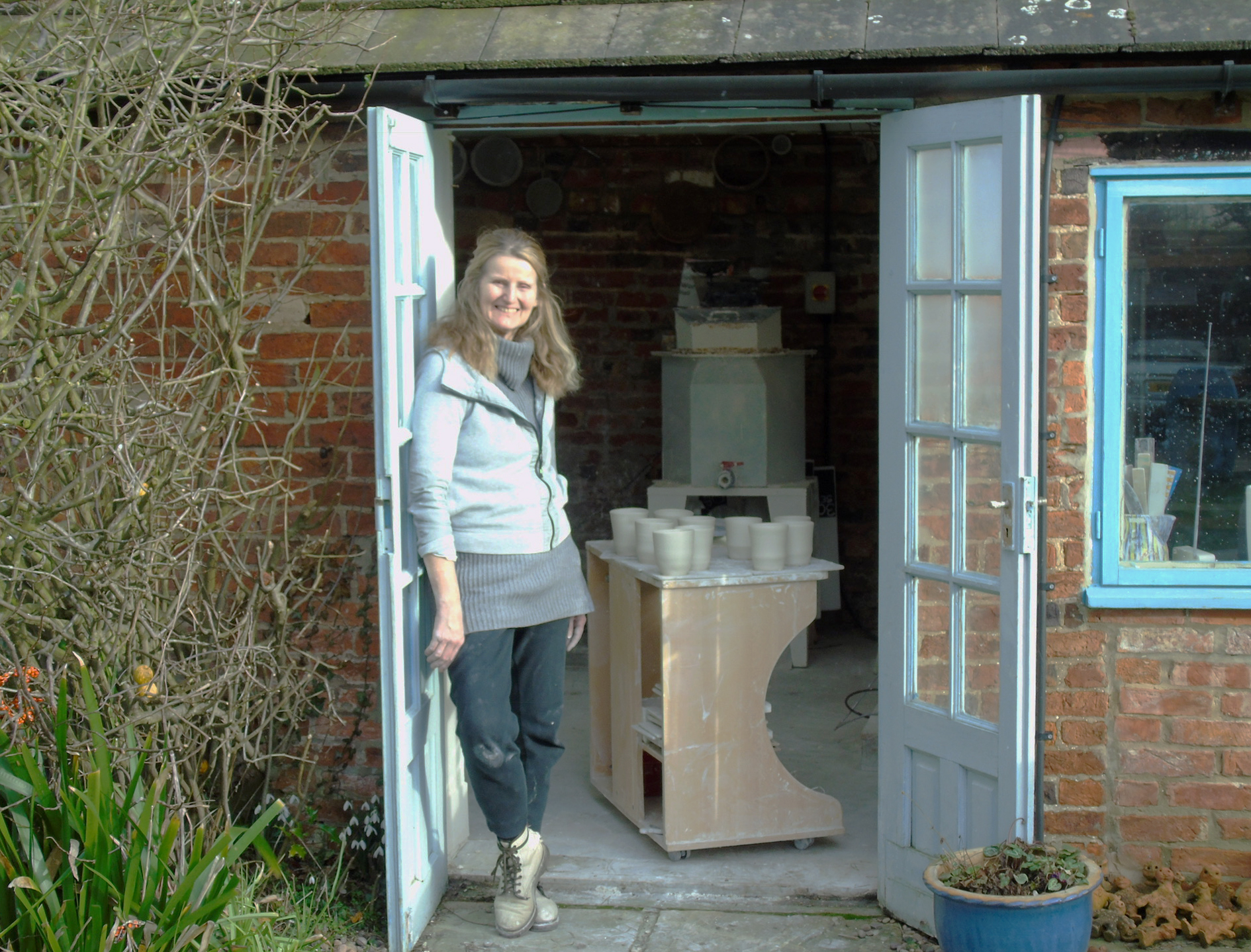 Potter Jill Ford looks forward to Pocklington Area Open Studios