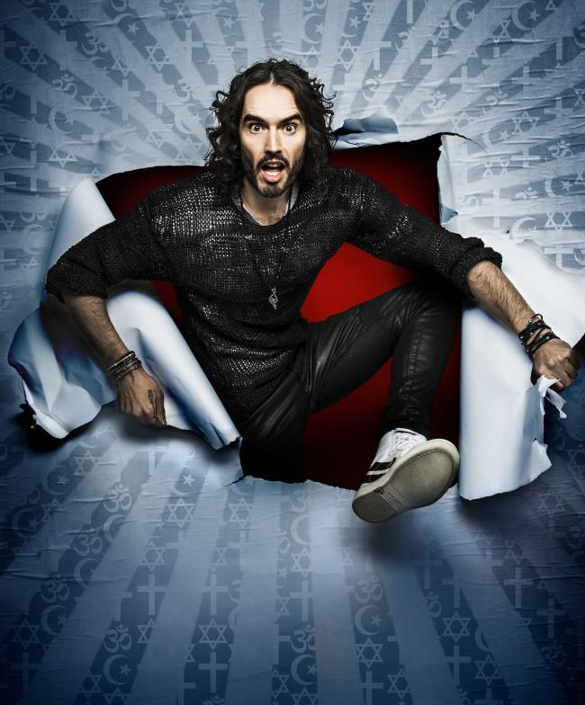 Brand awareness: Russell Brand talks about himself in Re:Birth