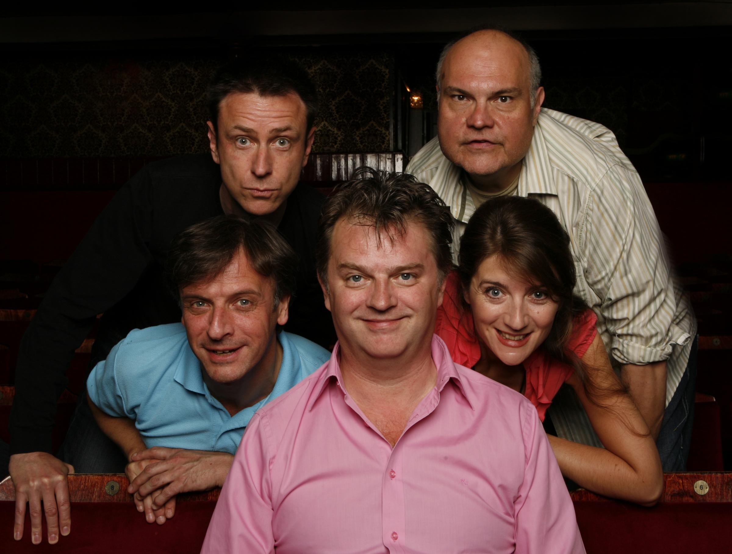 Paul Merton and his Impro Chums Lee Simpson, Richard Vranch, Suki Webster and Mike McShane