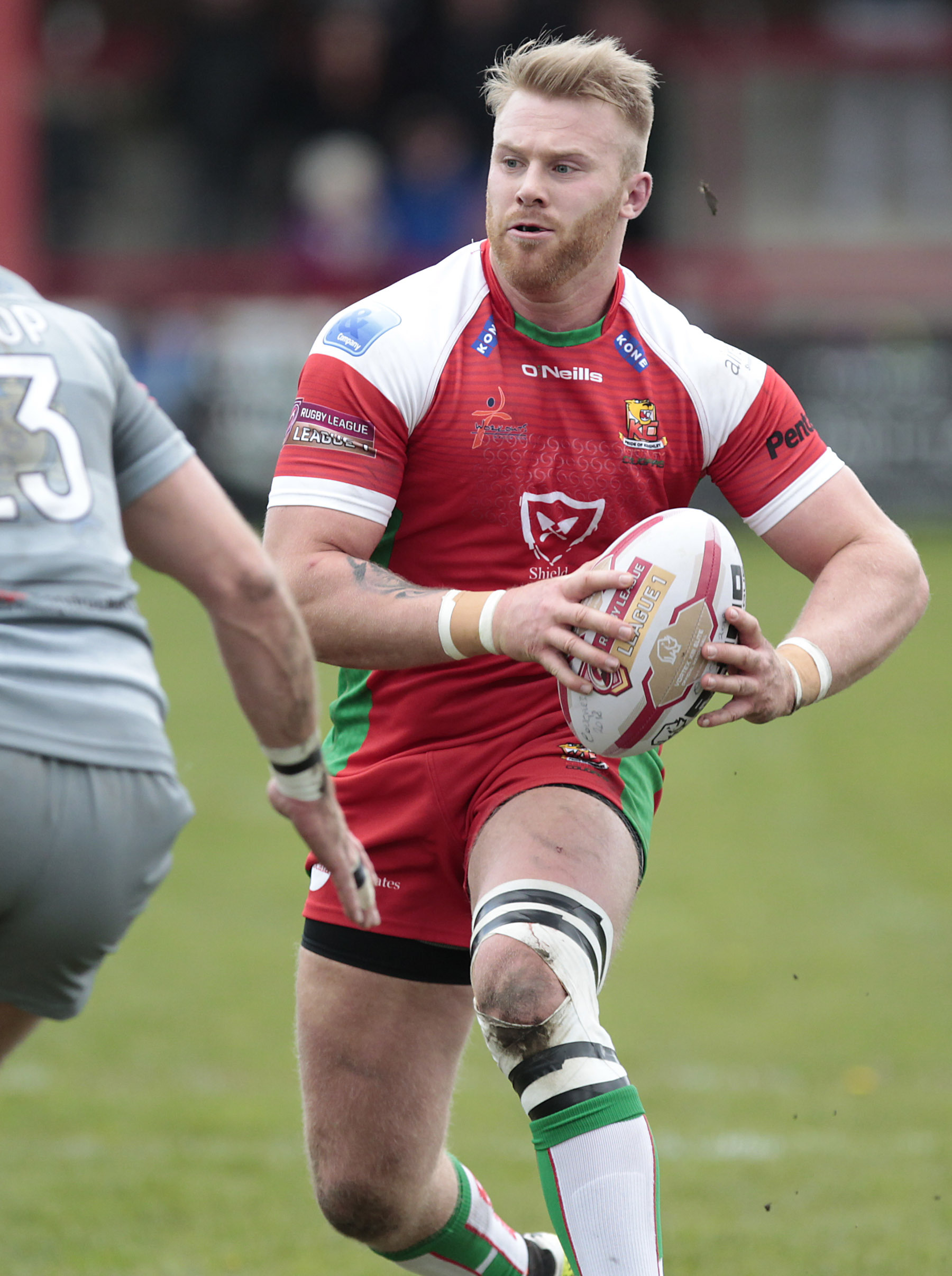 INCOMING: Former Keighley Cougars centre Perry Whiteley is in line to make his York City Knights debut away to West Wales Raiders on Saturday