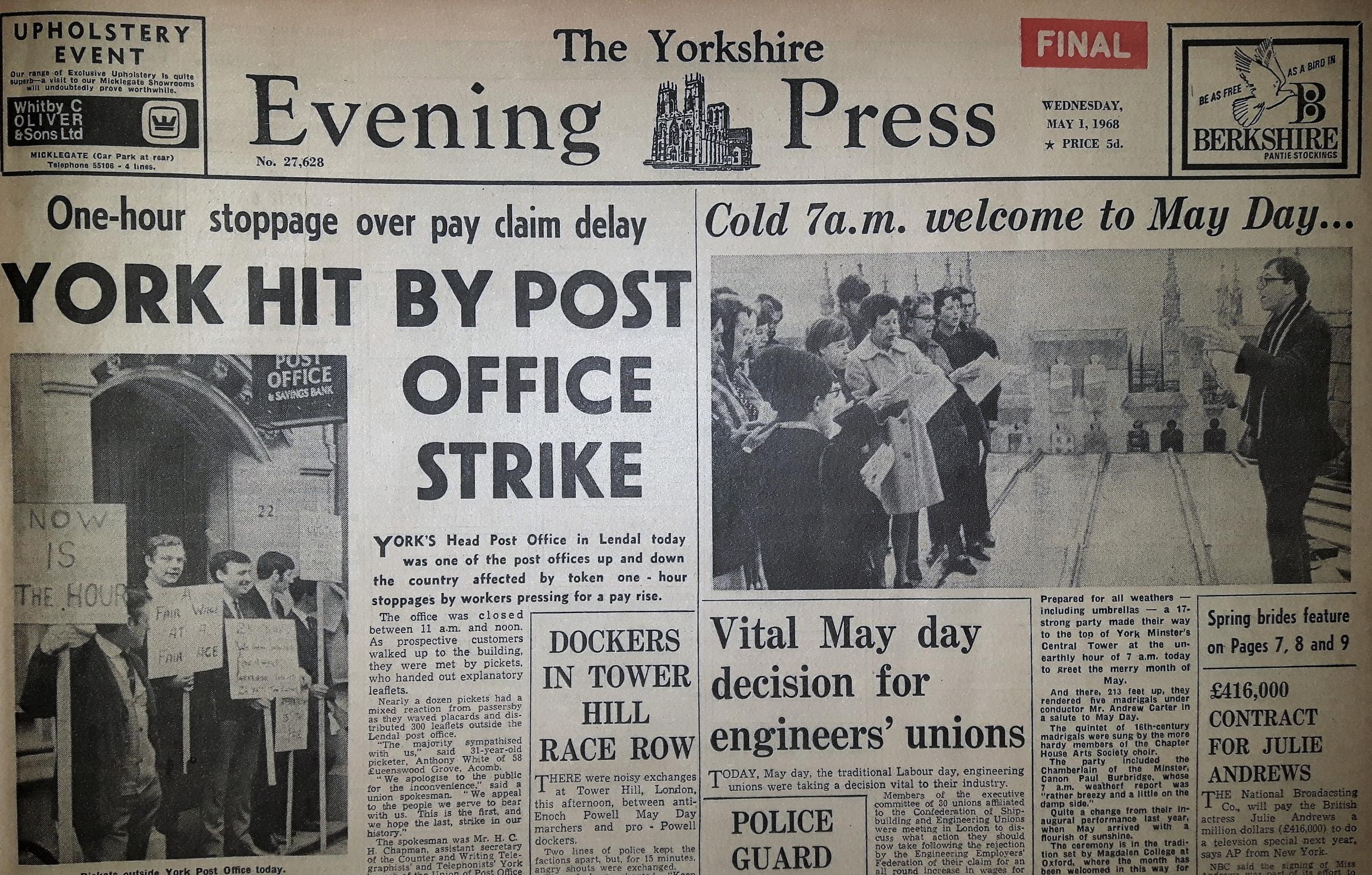 On This Day May 1 York Press