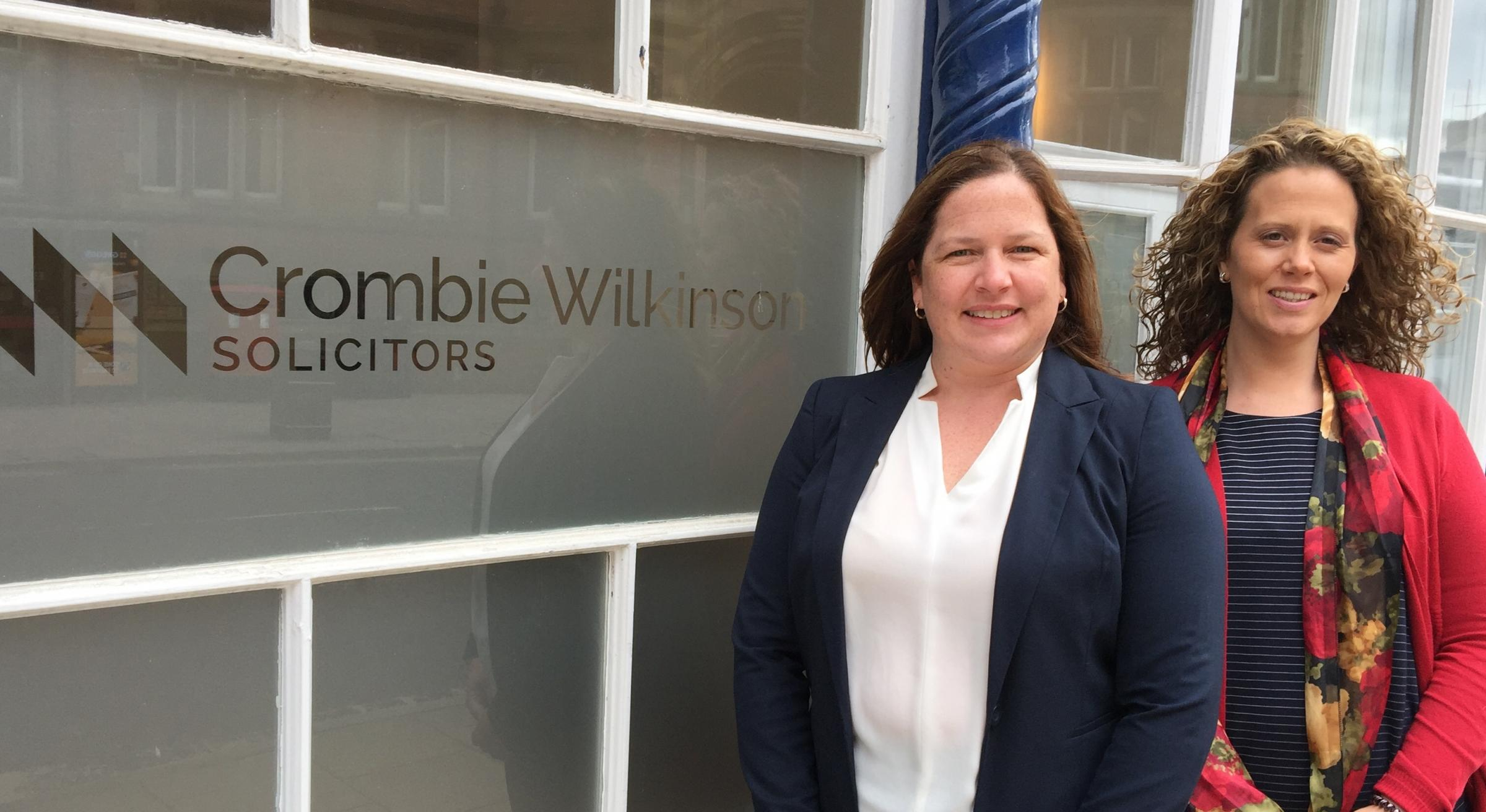 Jessica Appleby and Jessica Duffy - New Directors at Crombie Wilkinson Solicitors