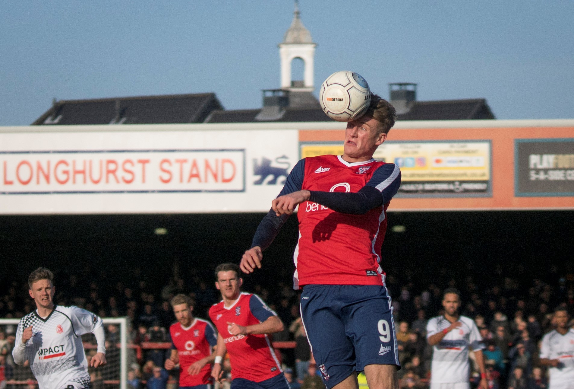 ON THE RISE: Alex Kempster in action for York City against Alfreton Town at Bootham Crescent. Picture: Ian Parker/Ice Photography