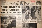 The Yorkshire Evening Press front page from May 11, 1968