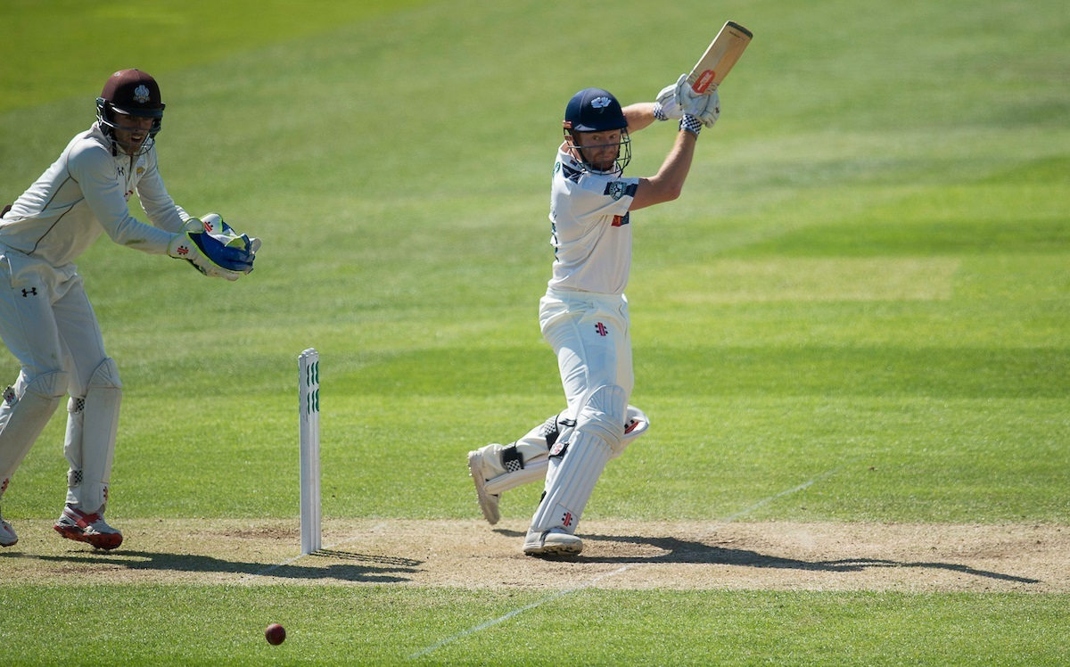Yorkshire's Jonny Bairstow holds the key in the fight to avoid defeat at Surrey
