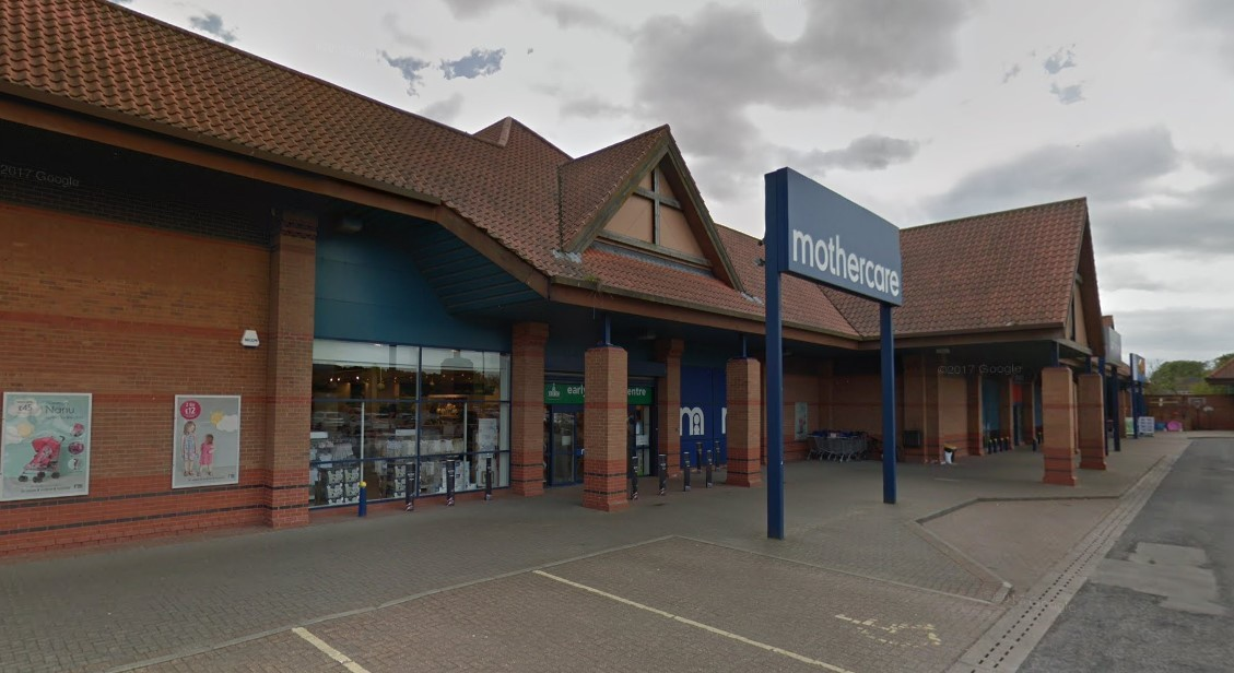 Mothercare's York store at Clifton Moor Retail Park. Picture: Google Maps