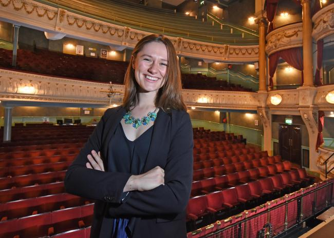 Rachel Lane: new general manager at Grand Opera House, York. Picture: David Harrison