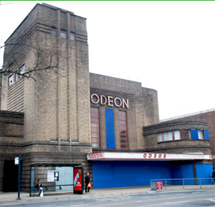 The cinema pictured boarded up before Reel took it over