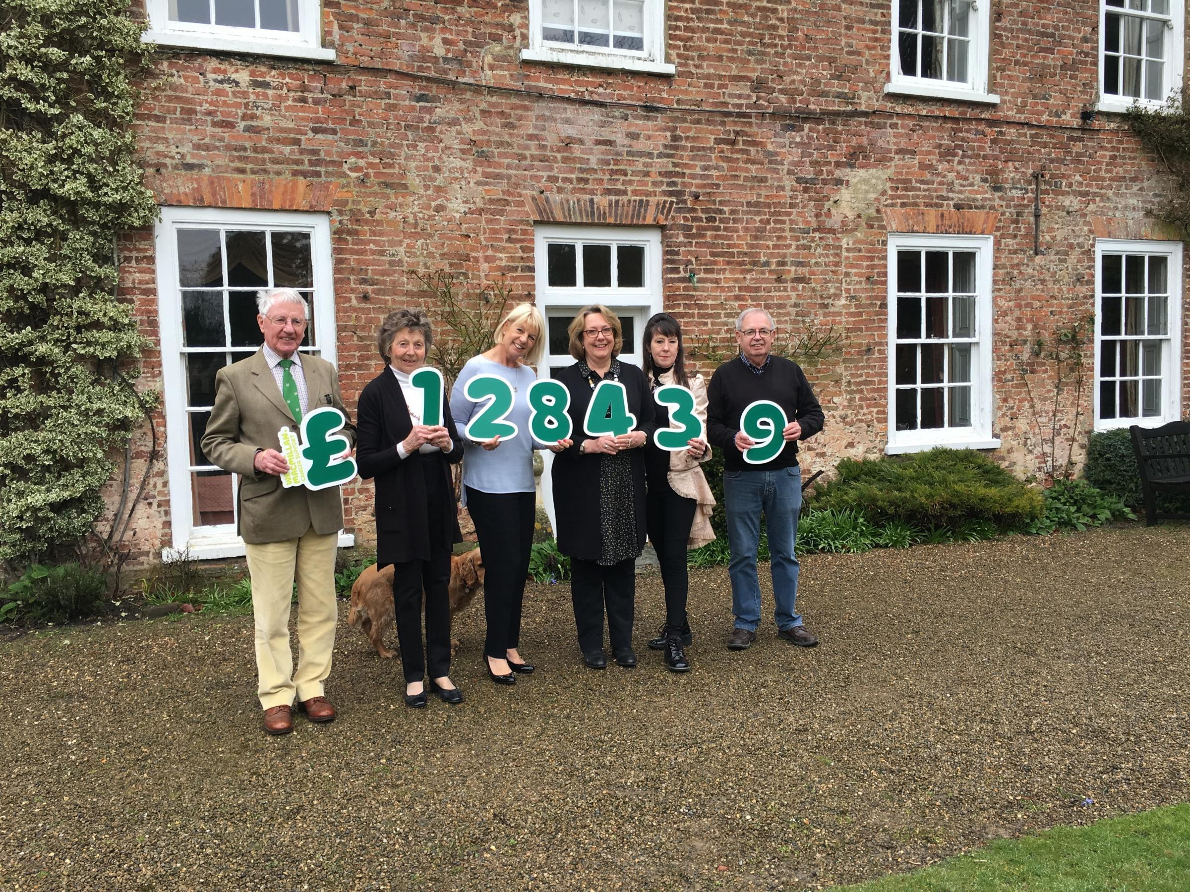 FUNDRAISERS: From left: Peter Danby-Smith, President - Lady Susan Watson, Jan Drinkall, Jane Parker, Chair - Katrina Lane and David Gant.