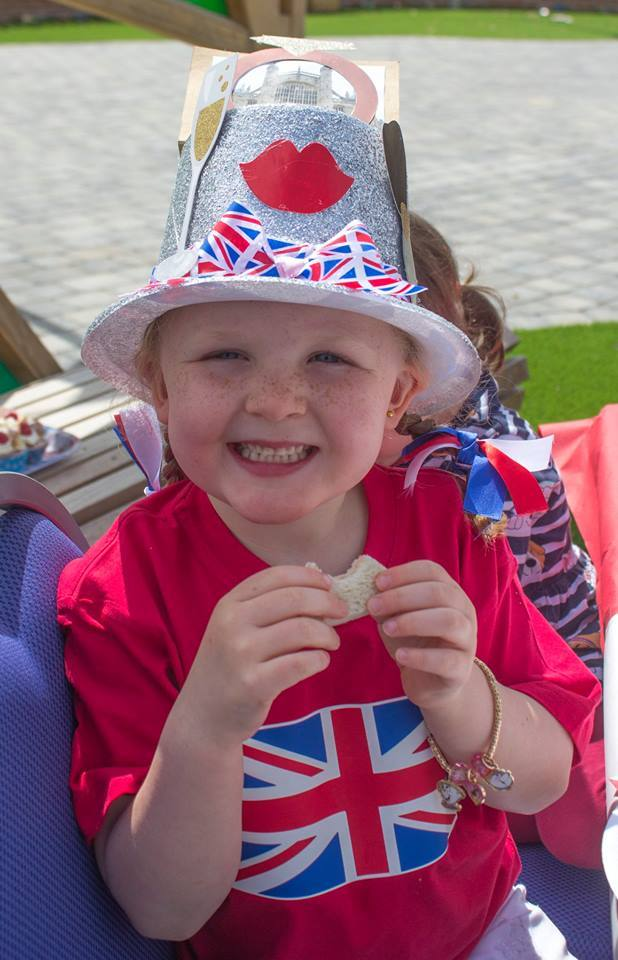 Youngsters at Queen Ethelburga's School hosted a right royal knees up in honour of the Royal Wedding