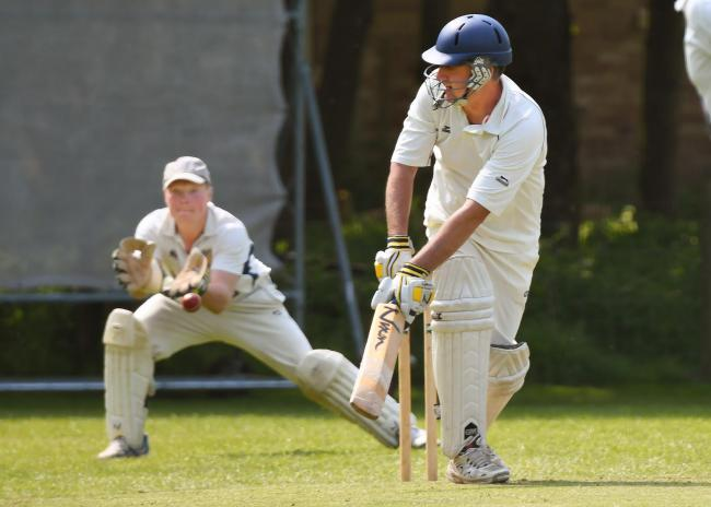DECENT KNOCK: Les Milburn, whose good half-century laid foundations for Thixendale's HPH York Vale League victory over Ovington