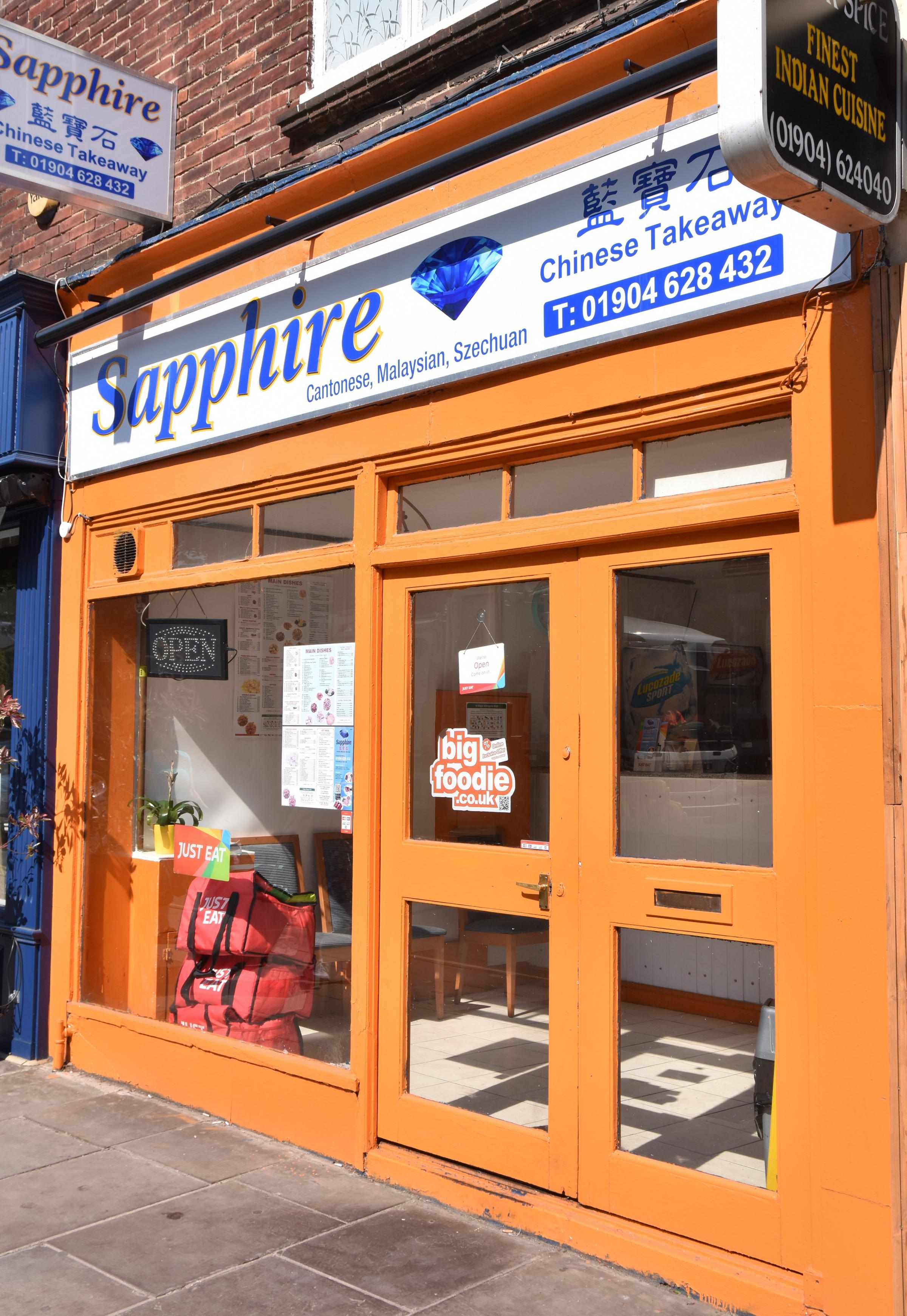 The Sapphire Takeaway York Was Infested With Cockroaches