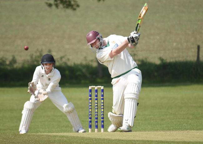 Tom Bumby scored 122 for Malton & Old Malton in their winning draw against Driffield Town Picture: David Harrison