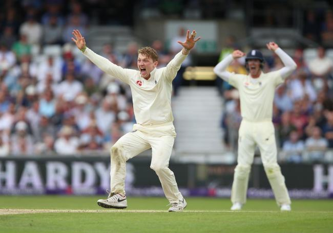 England's Dom Bess. Picture: Nigel French/PA Wire