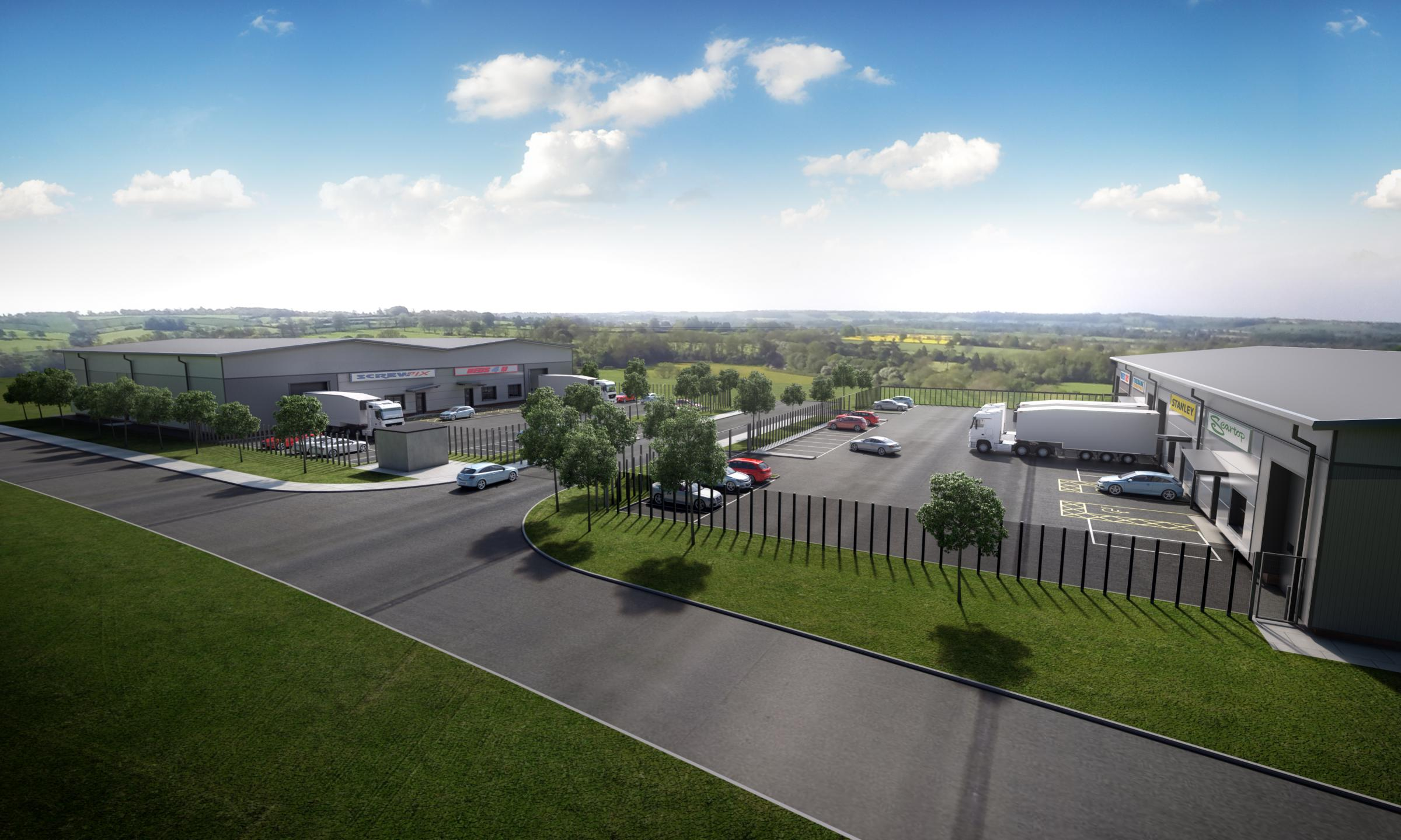 IMPRESSION: What the 30-acre Eden Business Park near Malton could look like once complete