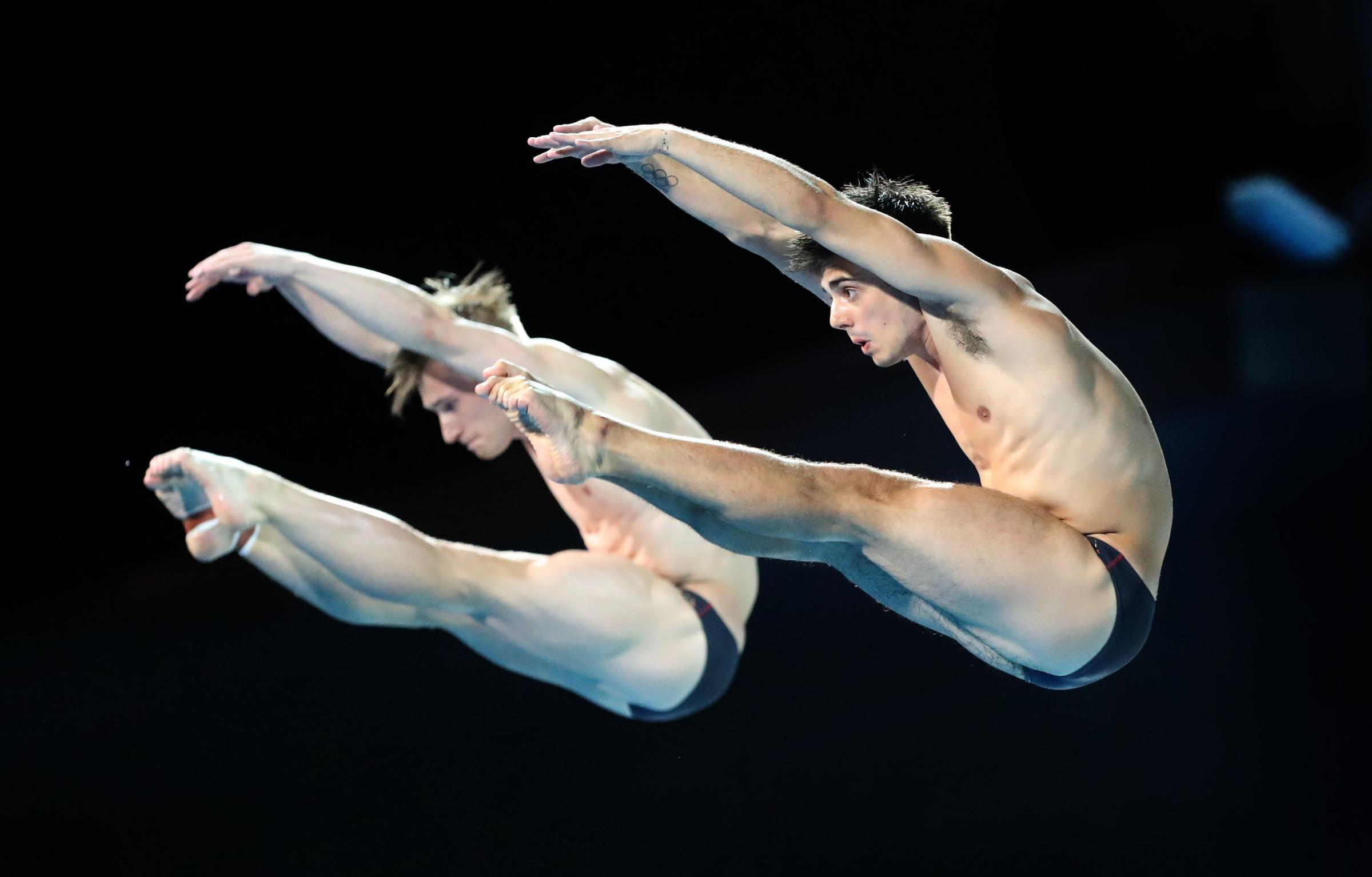 Jack Laugher and Chris Mears claimed silver at the Diving World Cup in China