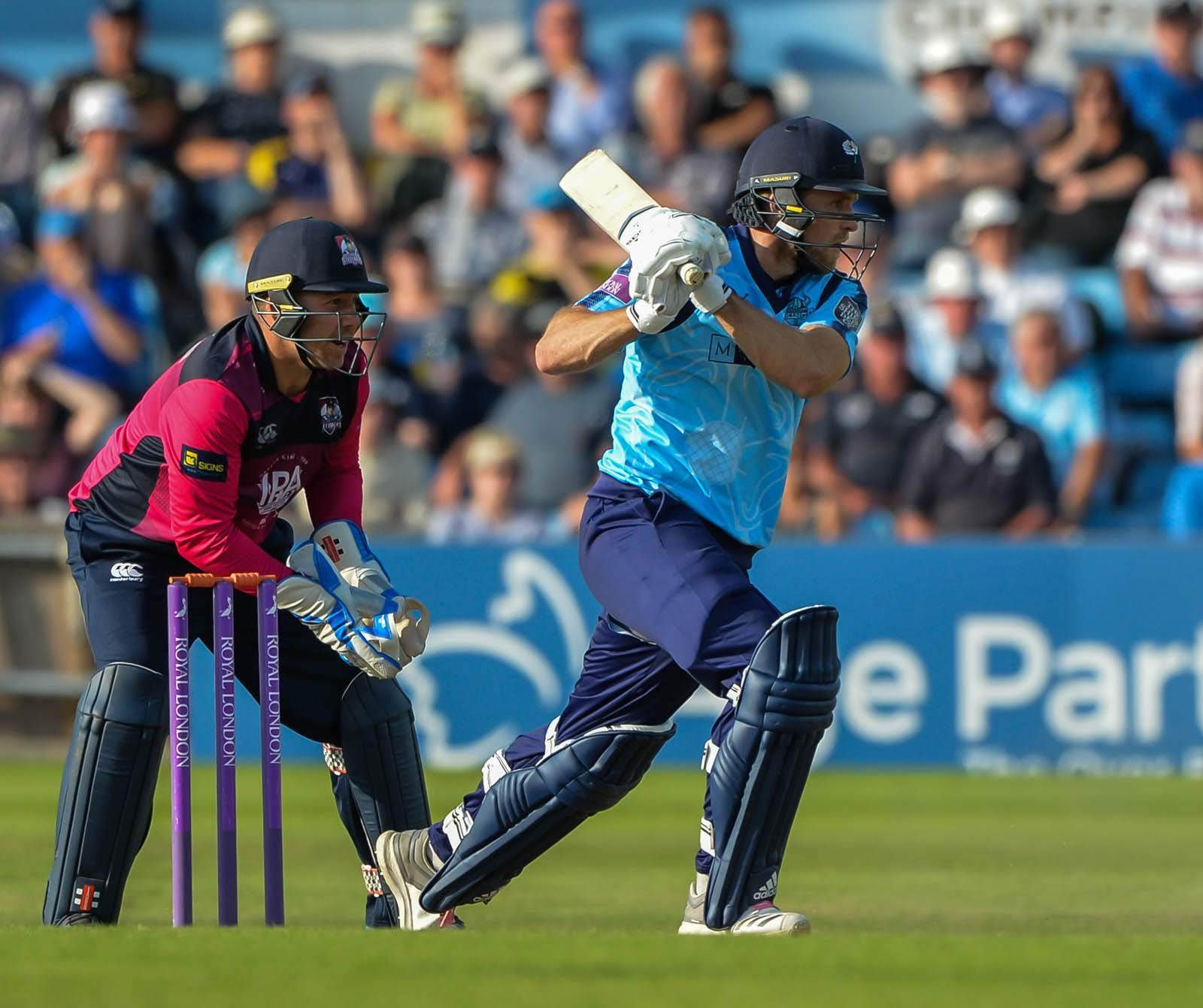 David Willey is one of several top Yorkshire players who will be missing from their quarter-final clash at Essex    Picture: Ray Spencer