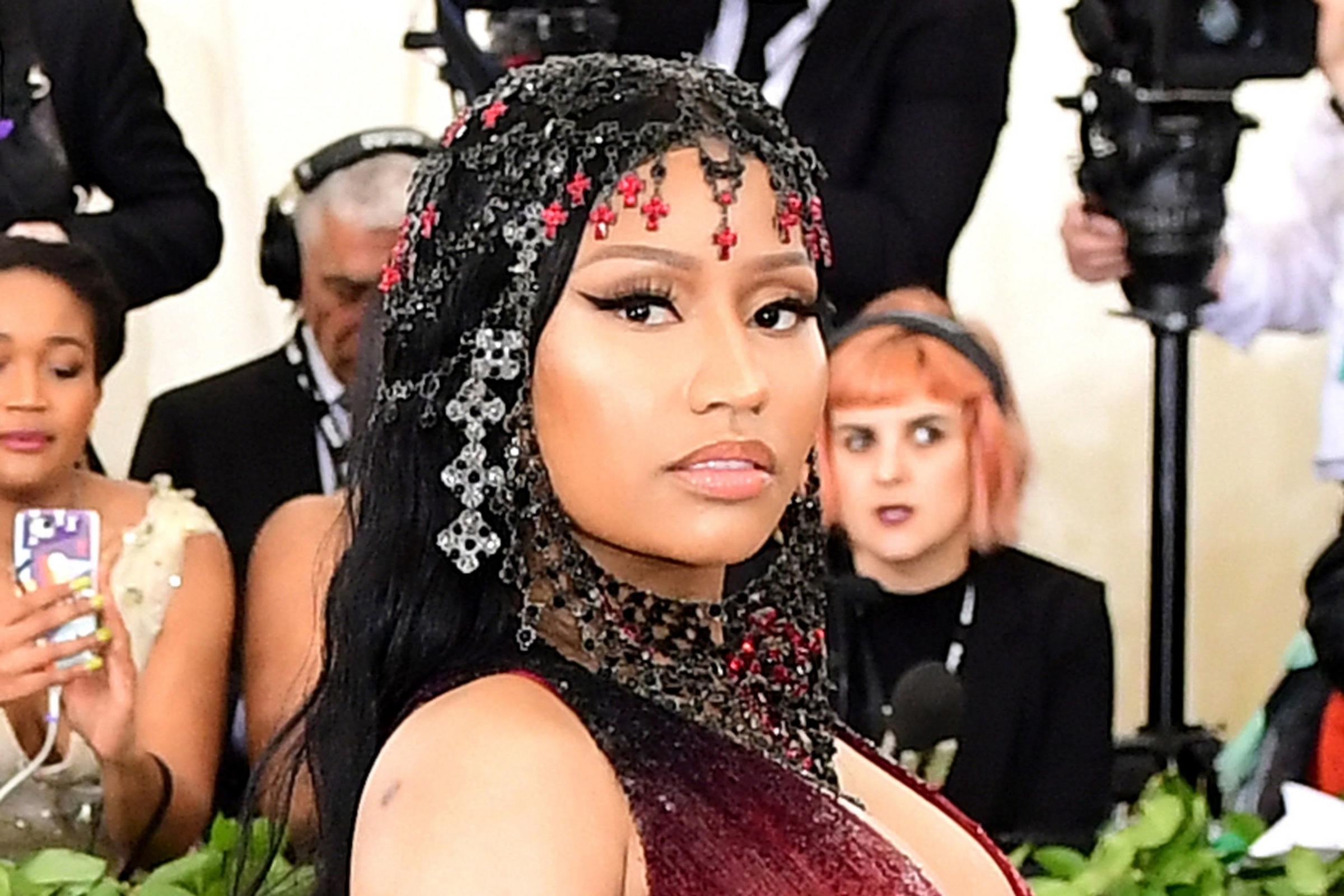 Nicki Minaj at the Met gala