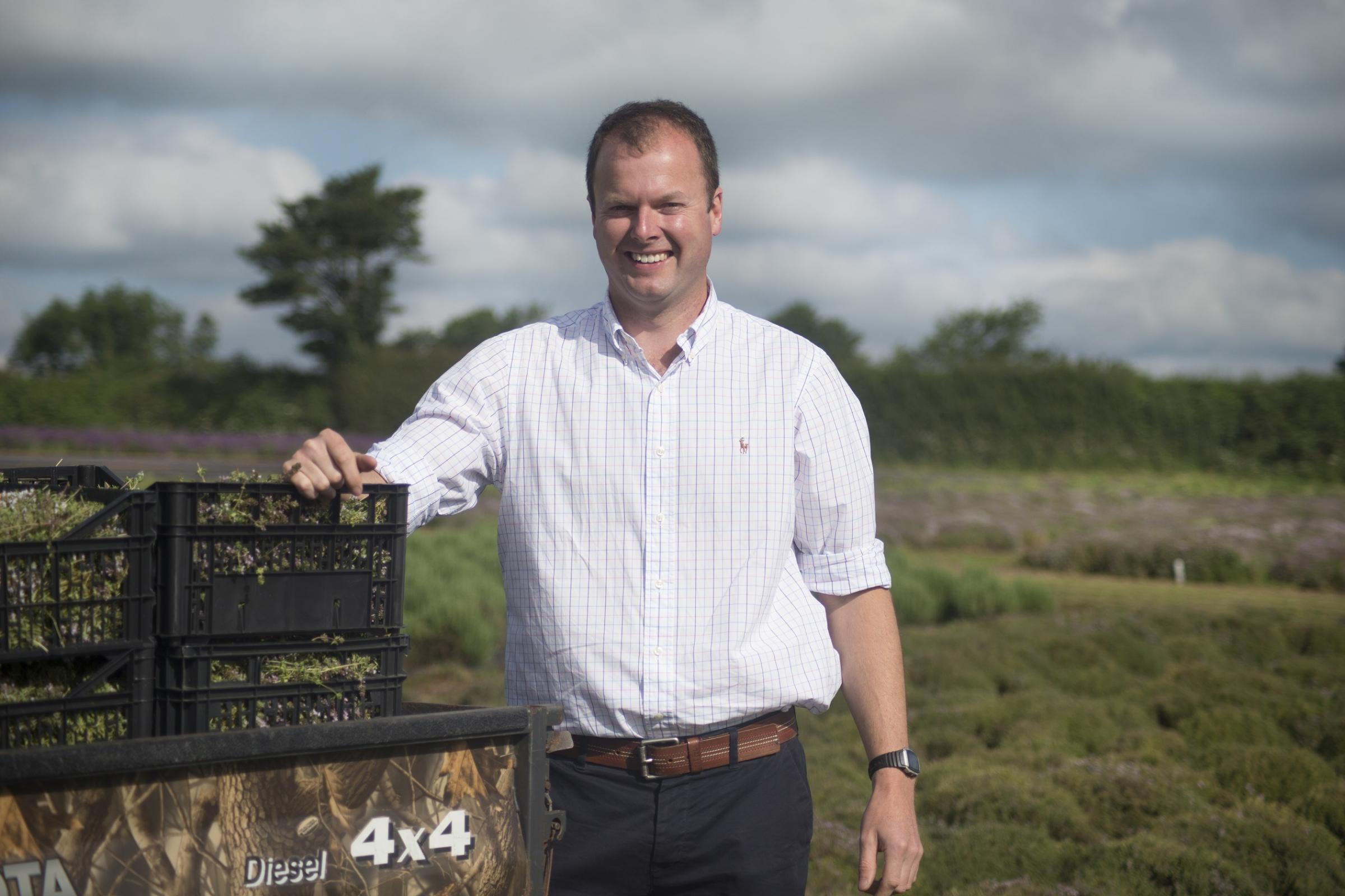 Philip Dodd managing director of Herbs Unlimited