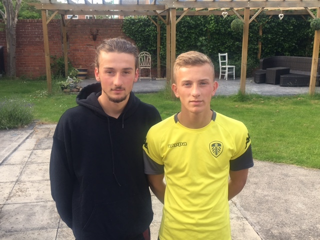 FAMILY FORTUNES: York brothers Alex (left) and Max McMillan - the sons of York City legend Andy - are both attracting interest from the South Africa FA