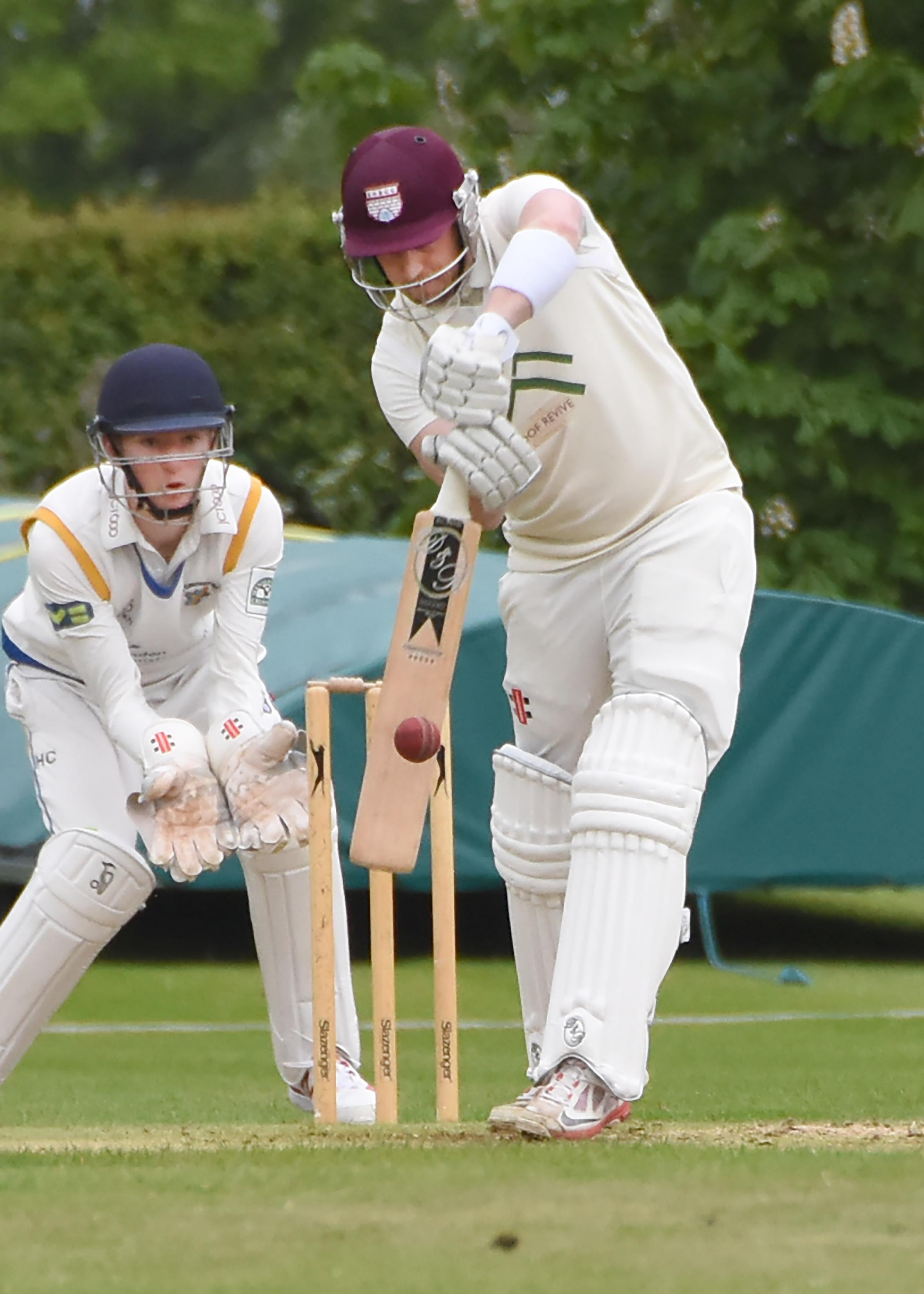 Dave Bradshaw scored 101 for Sheriff Hutton Bridge Picture: David Harrison