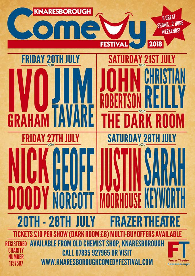 Justin Moorhouse/Sarah Keyworth - Knaresborough Comedy Festival