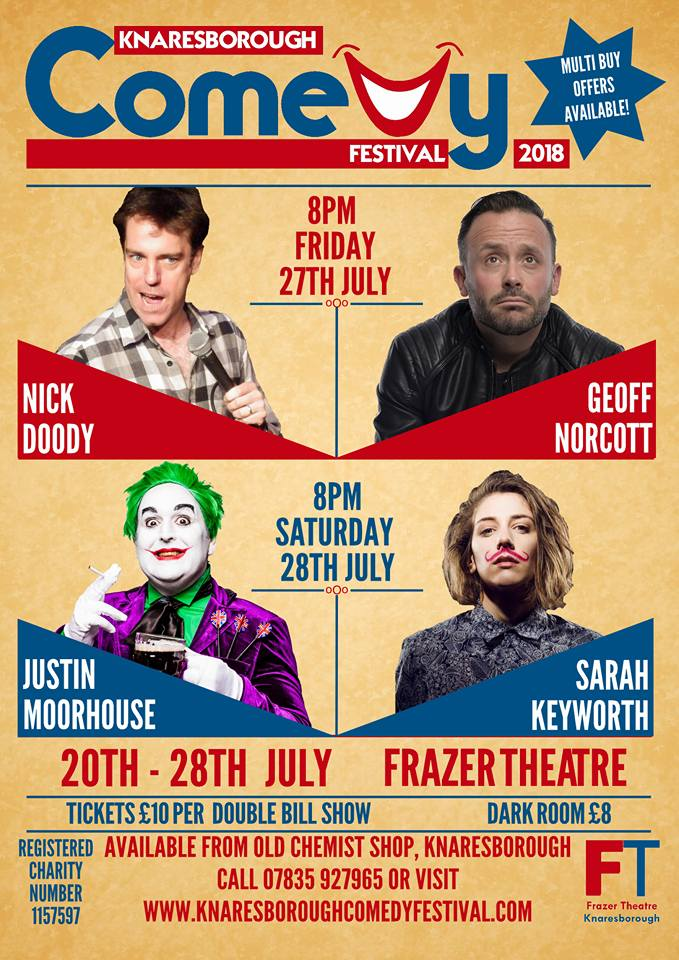 Nick Doody/Geoff Norcott - Knaresborough Comedy Festival
